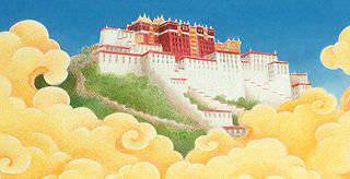 Potala Palace from All the Way to Lhasa by Barbara Helen Berger